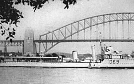 HMAS VENDETTA (1917 – 45)